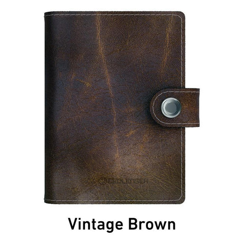Ledlenser Lite Wallet RFID Protection (Paired with 150-lumen LED) - Vintage Brown