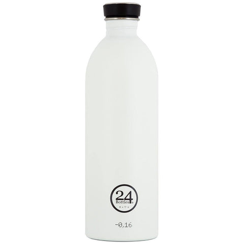 24 Bottles Urban Bottle 1L - Ice White