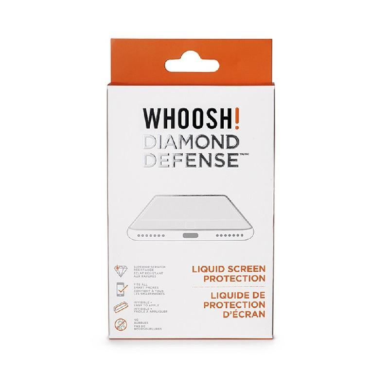 (Clearance) WHOOSH! Diamond Defense Superior Scratch Resistance Liquid Coating for All Smartphones - Oribags.com