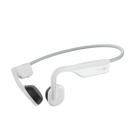 AfterShokz OpenMove IP55 Open-Ear Lifestyle Headphones - Alpine White