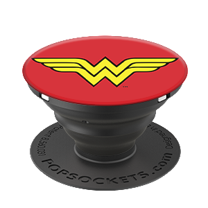 Popsockets Expanding Stand & Grip for Smartphones / Tablets - Wonder Woman Icon