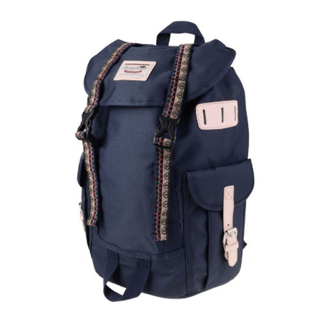 Doughnut Woodland Small Bo-He Backpack - Navy
