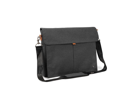 "PKG Yorkville Shoulder Bag 10L (fits 16"" Laptop) - Dark Grey"