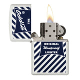 Zippo Blue & White 1958-59 Windproof Lighter (29413)