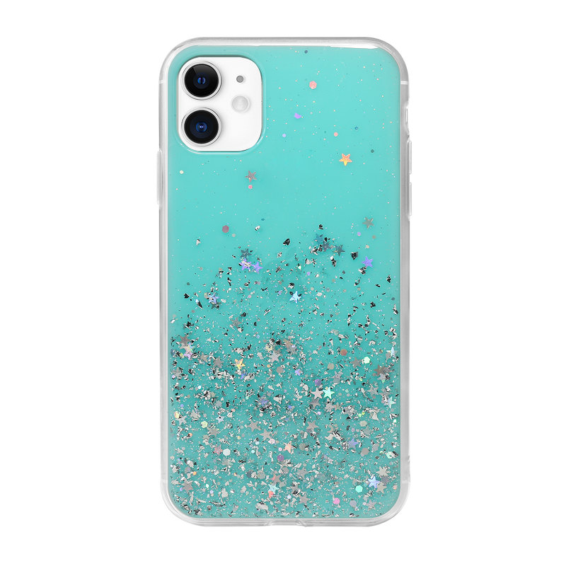 "(Clearance) SwitchEasy Starfield Case for iPhone 11 Pro 5.8"" - Transparent Blue - Oribags.com"