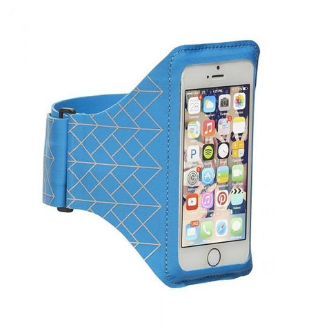 "(Clearance) STM Armband for Smartphone ( Up to 5.1"") - Blue"