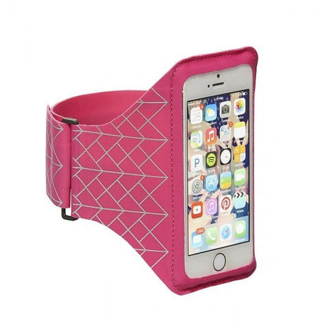 "(Clearance) STM Armband for Smartphone ( Up to 5.1"") - Pink"