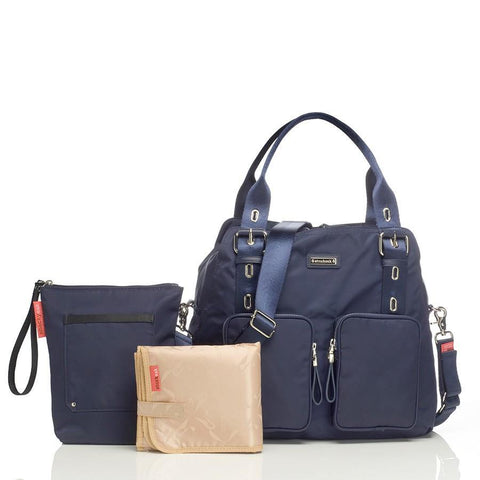 Storksak Alexa Changing Diaper Bag - Navy