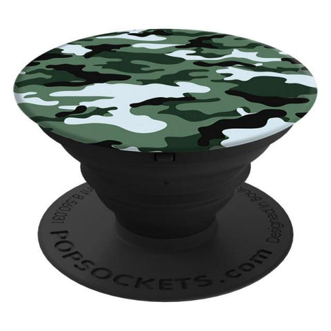 Popsockets Expanding Stand & Grip for Smartphones / Tablets - Dark Green Camo