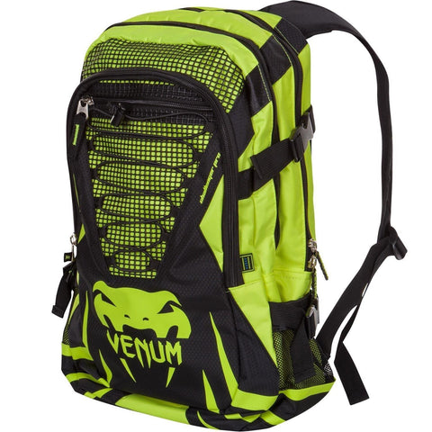 "VENUM ""CHALLENGER PRO"" BACKPACK - BLACK/NEO YELLOW - MMAoutfit - 1"