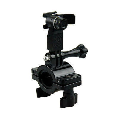 Armor-X Bar Mount for Bike Compatible w/ Smart Phone & Go Pro w/ Adaptor - Oribags Sdn Bhd