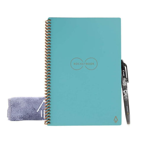Rocketbook Everlast Reusable Notebook (Executive Size) - Light Blue