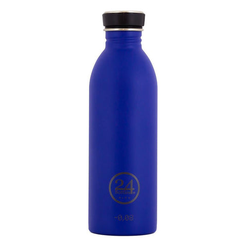 24 Bottles Urban Bottle 0.5L – Gold Blue