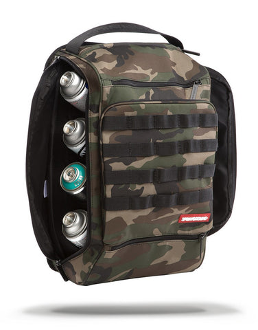 Sprayground Grafitti Utility Backpack - Camo Hawk - oribags2 - 1