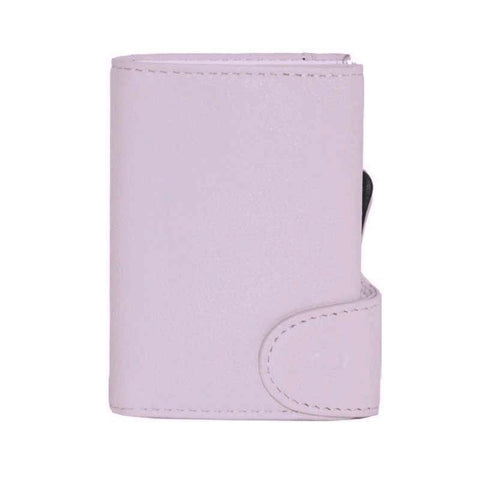 C-Secure RFIDSafe Italian Leather Wallet - Candy Pink