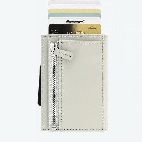 Ogon Cascade Zipper Wallet RFID Safe - Grey