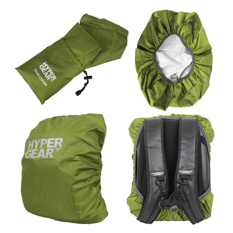 Hypergear Rain Cover for Dry Bags & Backpacks - Green