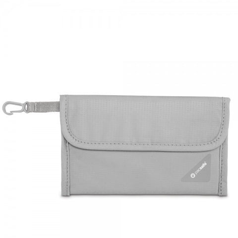 Pacsafe Coversafe V50 RFID Blocking Passport Protector - Grey - oribags2 - 1