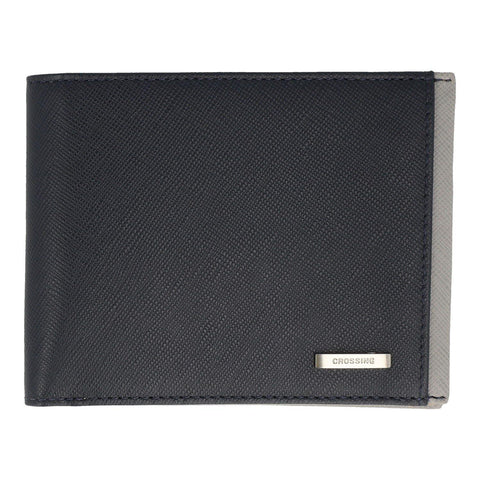 Crossing Modish Bi-Fold Wallet - Grey