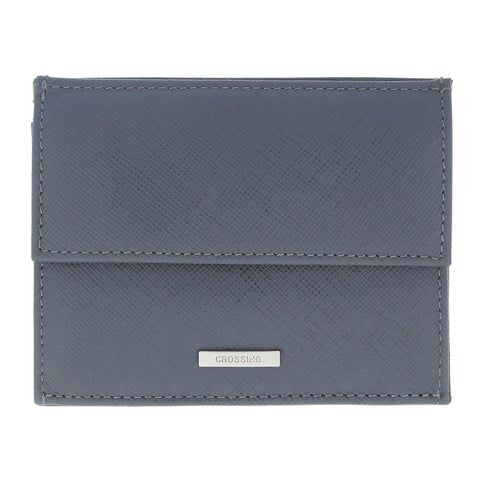 Crossing Coin Pouch With Card Case – Charcoal