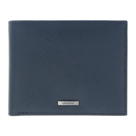Crossing RFID Wallet With Coin Pouch – Dress Blue