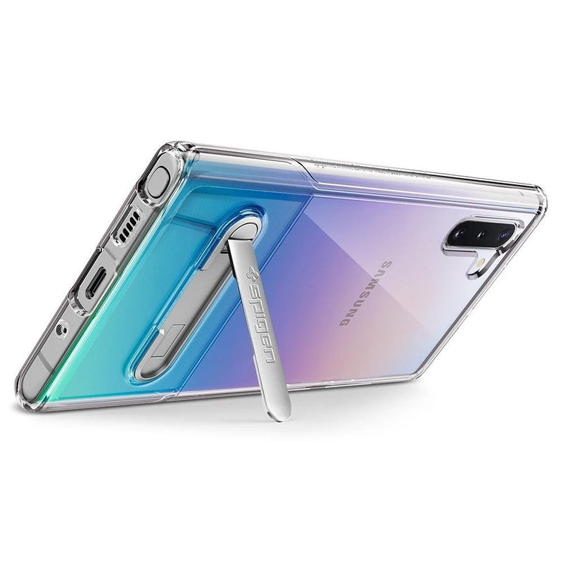 Spigen Galaxy Note 10 Case Slim Essential S - Crystal Clear - Oribags.com