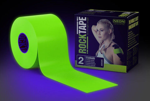 Rocktape Active-Recovery Series (W5cm x L5m) - Standard Neon Limited Edition