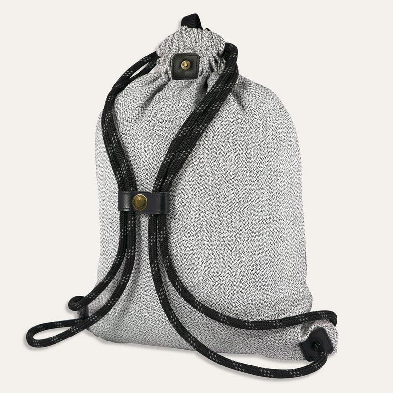 (Clearance) Loctote Flak Sack Sport Theft-Resistant Bag - Sport Grey - Oribags.com