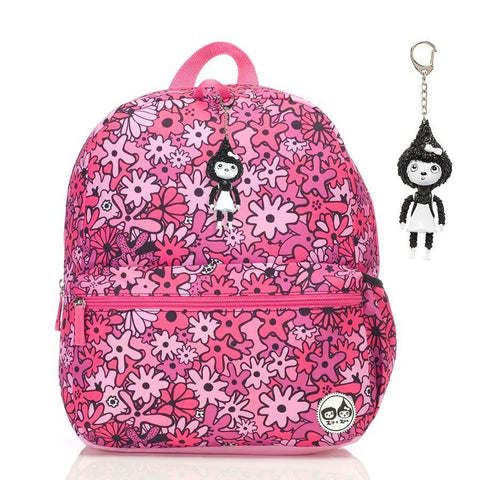 Babymel Kid's Junior Backpack - Floral Pink