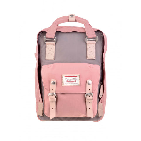 Doughnut Macaroon Backpack - Lavender X Rose