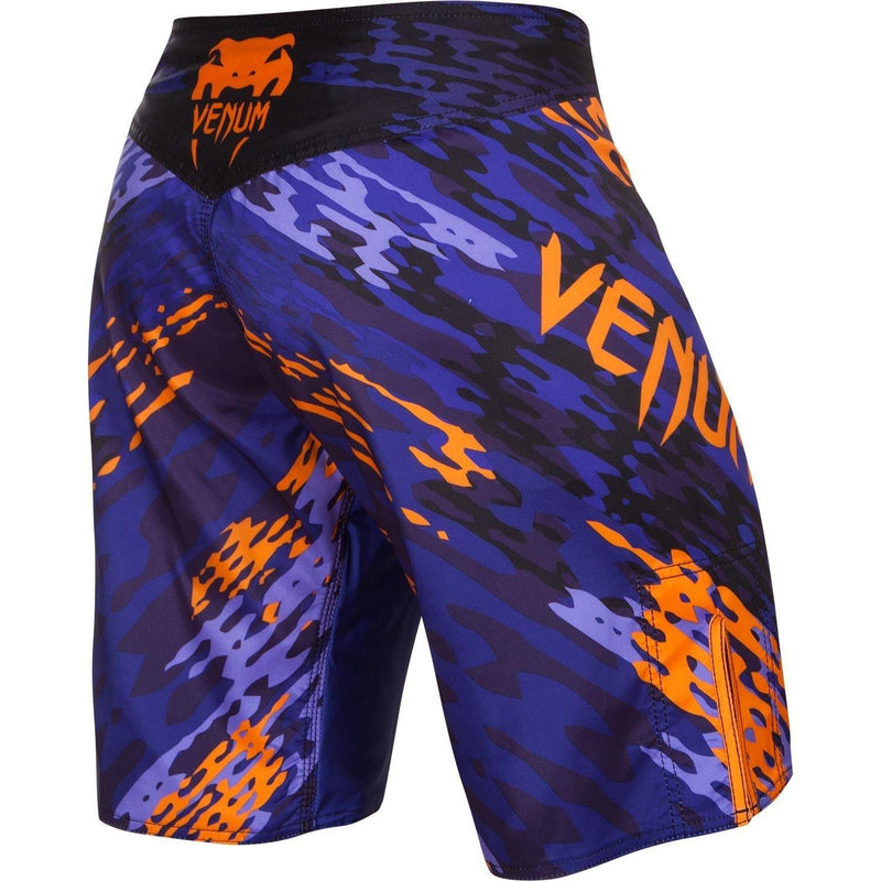 VENUM NEO CAMO FIGHTSHORTS - BLUE/ORANGE - MMAoutfit - 3