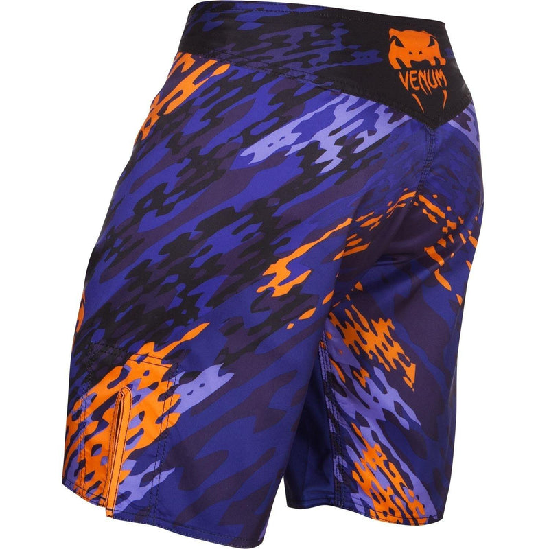 VENUM NEO CAMO FIGHTSHORTS - BLUE/ORANGE - MMAoutfit - 2