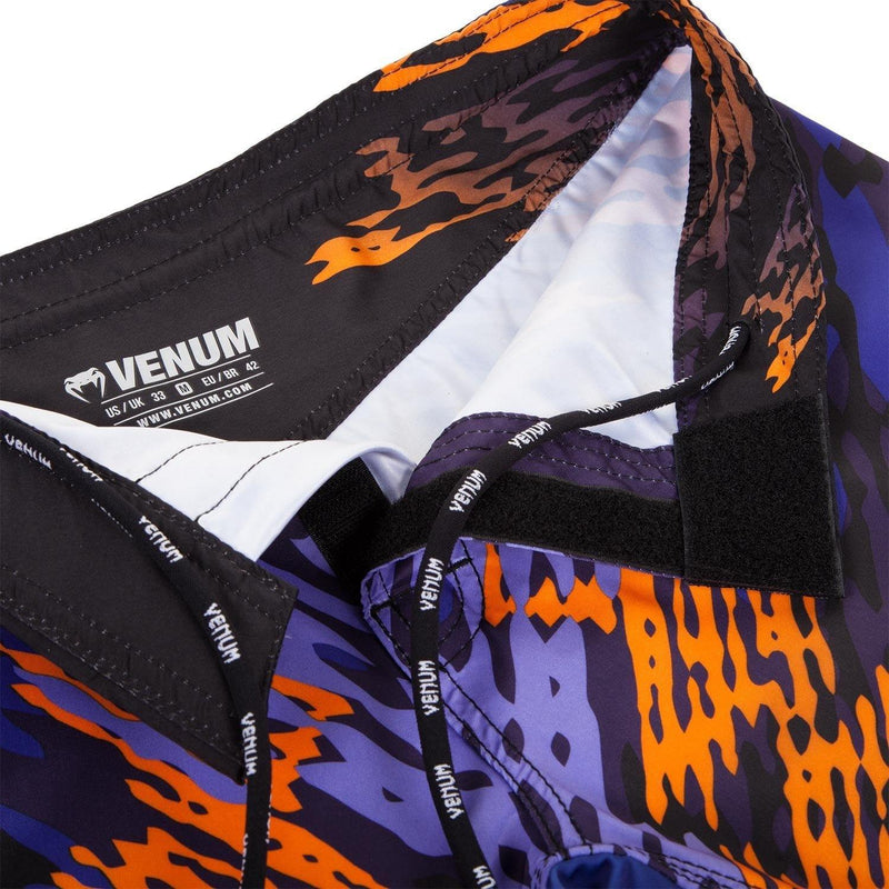 VENUM NEO CAMO FIGHTSHORTS - BLUE/ORANGE - MMAoutfit - 5