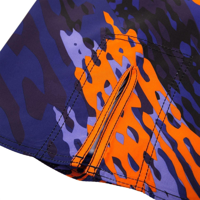 VENUM NEO CAMO FIGHTSHORTS - BLUE/ORANGE - MMAoutfit - 6