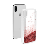 "Casetify Girl Boss iPhone XR 6.1"" Glitter Collection - Rose Pink"
