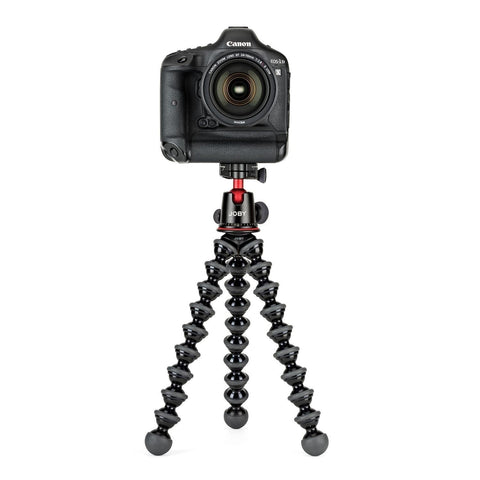 (Clearance) Joby GorillaPod 5K Premium Machined Aluminum Flexible Tripod for DSLR and Mirrorless Cameras - Black/Charcoal