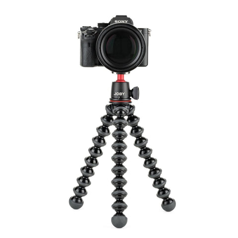 Joby GorillaPod 3K Lightweight Professional Tripod for DSLR and Mirrorless Cameras - Black/Charcoal