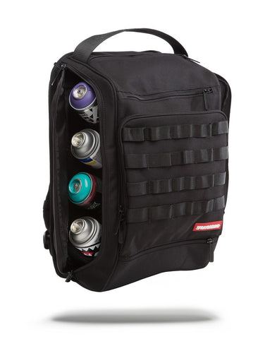 Sprayground Graffiti Utility Backpack - Black Hawk - oribags2 - 1