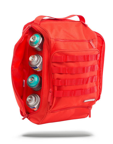 Sprayground Grafitti Utility Backpack - Red Hawk - oribags2 - 1