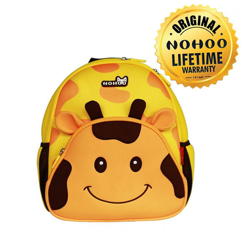 Nohoo Kids Backpack Giraffe  Design - Yellow