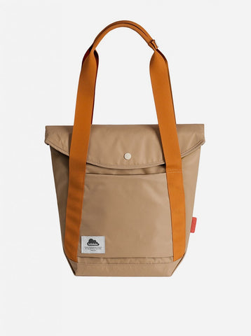 "Hellolulu Kara Nylon 13"" Laptop All Day Tote Bag - Khaki - oribags2 - 1"