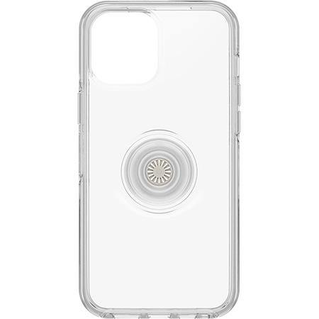 Otterbox iPhone 12 Pro Max Otter + Pop Symmetry Series Clear Case - Clear Pop