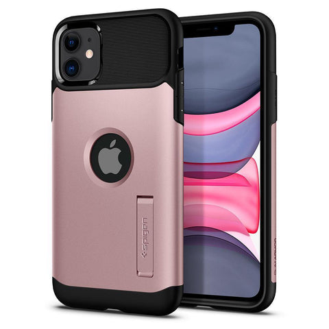 Spigen iPhone 11 Case Slim Armor - Rose Gold