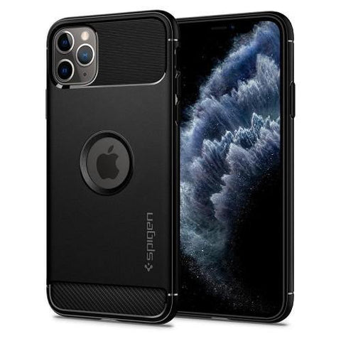 SPIGEN iPhone 11 Pro Case Rugged Armor - Matte Black