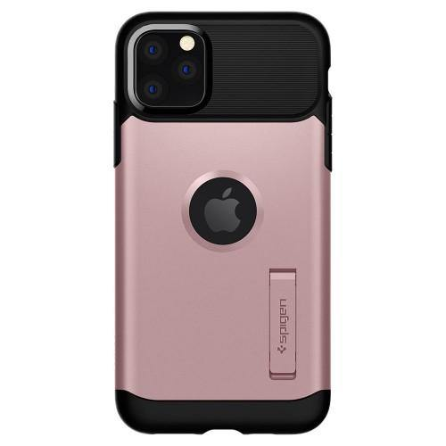 Spigen iPhone 11 Pro Case Slim Armor - Rose Gold - Oribags.com