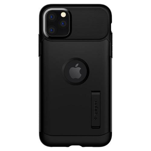 Spigen iPhone 11 Pro Case Slim Armor - Black - Oribags.com
