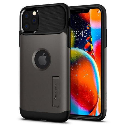 SPIGEN iPhone 11 Pro Max Case Slim Armor - Gunmetal
