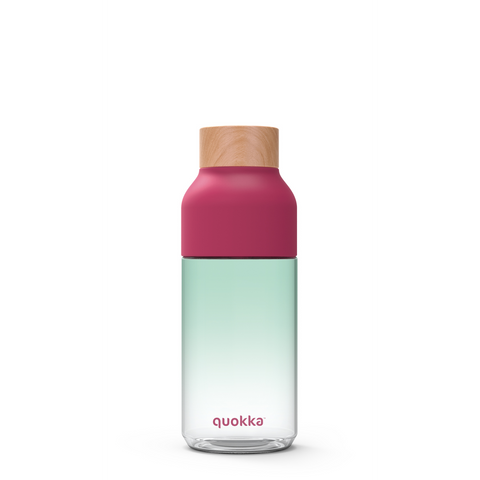 Quokka Tritan Bottle Ice Series Double Twist Opening 570ml - Nature