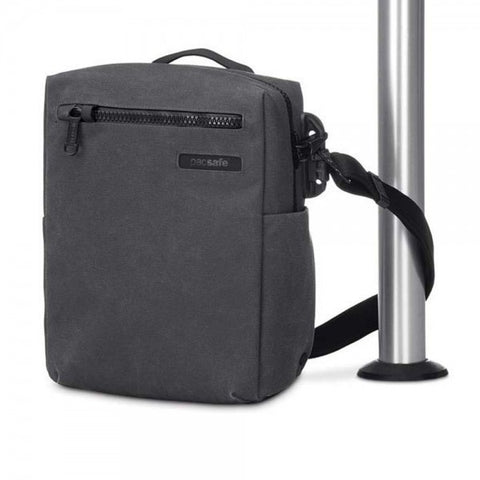 "Pacsafe Intasafe Crossbody Anti-Theft 10"" Tablet Bag - Charcoal - oribags2 - 1"