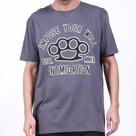Intimidation Impose Your Will Shirt - Grey